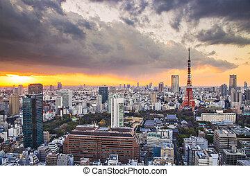 Tokyo, Japan - Tokyo Tower in Tokyo, Japan