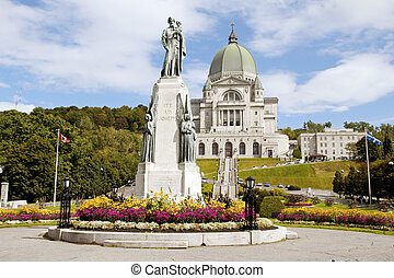 Saint Joseph Oratory construction began in 1904 The original...