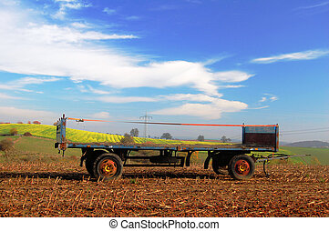 Agriculture trailer