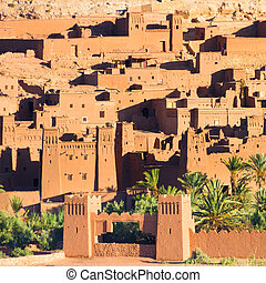 Ait Benhaddou, Ouarzazate, Morocco - Ait Benhaddou,fortified...