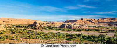 Ait Benhaddou, Ouarzazate, Morocco. - Ait...