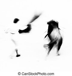 Bullfighting - Bullfigting in bullring Las Ventas, Madrid,...