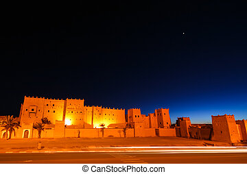 Taourirt Kasbah in Ouarzazate, Morocco, North Africa. -...