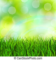 grass background - Abstract green grass background vector...