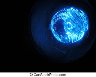 Blue Stage Light