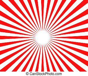 background - vector red retro burst abstract background