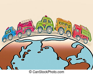 Toy Vehicles, World tour cocept