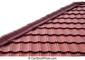roof tiles - pattern and texture of roof tiles