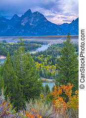 Snake River Overlook - Grand Teton National Park - Snake...