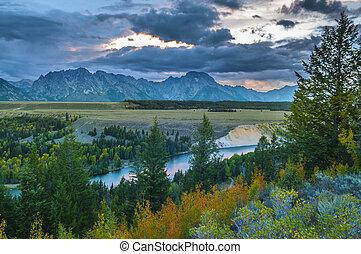 Snake River Overlook - Grand Teton National Park - Snake...