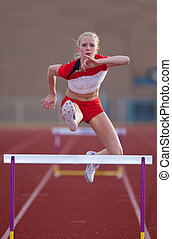 Womans Hurdles