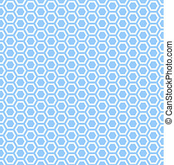 Seamless hexagons texture - Seamless hexagons blue texture...