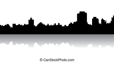 Skyline - Silhouette of a skyline