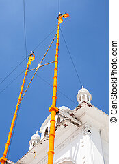 Sikh gurdwara Golden Temple (Harmandir Sahib). Amritsar,...