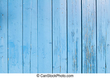 light blue paint on old shed - light blue painted planks of...