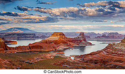 Lake Powell from Alstrom Point - Lake Powell-the second...
