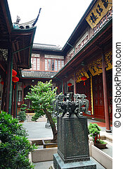 Ancient chinese house - Little garden in the ancient chinese...