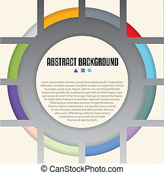 Cool background design with shaps and colors ideal for advertising posters, billboards