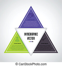 Infographic design with various icons and description, ideal...