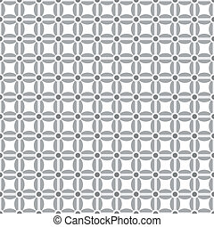Gray pattern set with various shapes