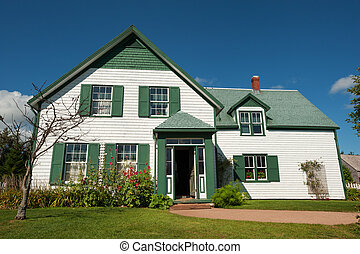 Green gables - Famous house with Green Gables in Prince...