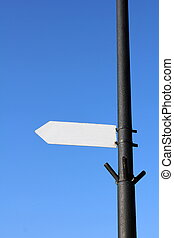 Blank sign