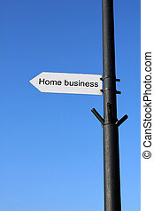 Home business sign