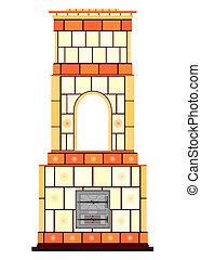 Heater - Traditional masonry heater