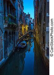 Gondolas at Grand Canal, Venice, Italy