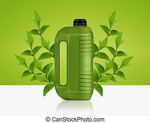 bio, combustível, galão