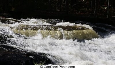 Splashing Whitewater Loop - Loop features rushing whitewater...