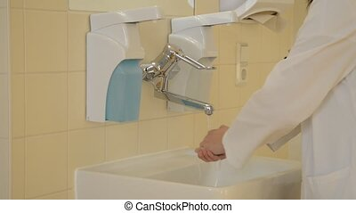 Hands Washing in Hospital - Hand Washing, Cleaning,...