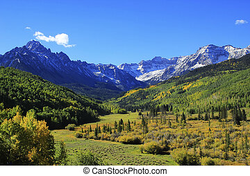 Mount Sneffels Range, Colorado, USA