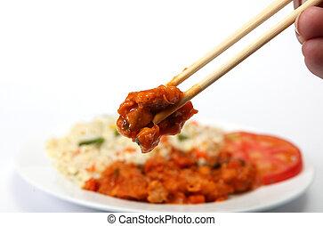 Chopsticks sweet and sour