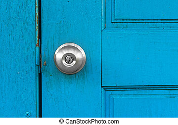 door with knob