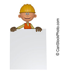 Builders 3d with frame