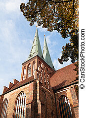 medieval Saint Nicholas Church in Berlin - medieval Saint...