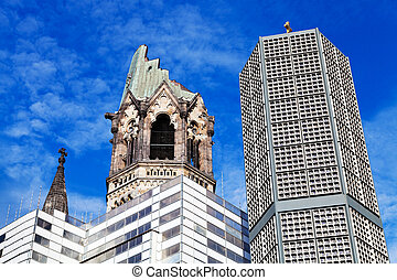 Kaiser Wilhelm memorial church -...
