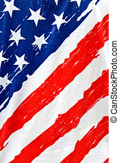 american flag - vertical of american flag grunge