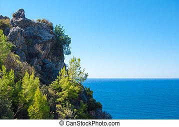 Alanya peninsula, Antalya, Turkey