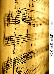 musik, ark, Årgång
