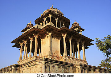 84-Pillared Cenotaph, Bundi, Rajasthan, India