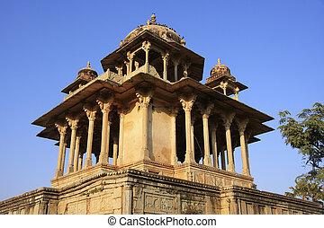 84-Pillared Cenotaph, Bundi, Rajasthan, India