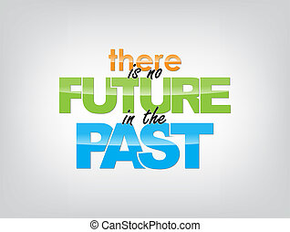 Motivational Background - There is no future in the past....