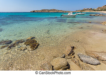 Paranga Beach, Mykonos - Paranga Beach on the island of...