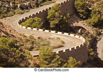 double bend in spain