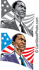 Barack Obama president of the United States of America