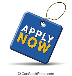 apply now icon - Apply now and subscribe here for...