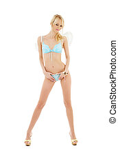blue lingerie angel - picture of blue lingerie angel over...