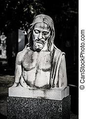 kristus, staty,  Jesus